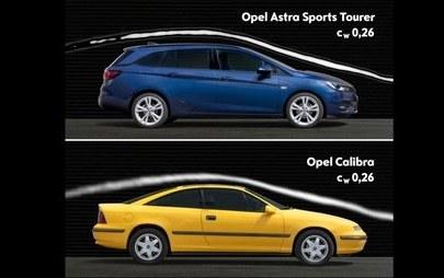 Reis da aerodinâmica: novo Opel Astra partilha a coroa com o Calibra