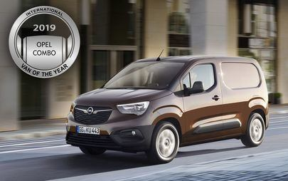 Novo Opel Combo eleito 'International Van of the Year 2019'
