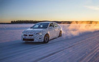 Testes e mais testes: as últimas afinações ao novo Opel Corsa
