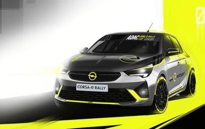 Um Corsa-e especial: Opel desenvolve o primeiro carro elétrico de ralis
