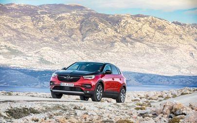 Opel apresenta o novo Grandland X híbrido 'plug-in'